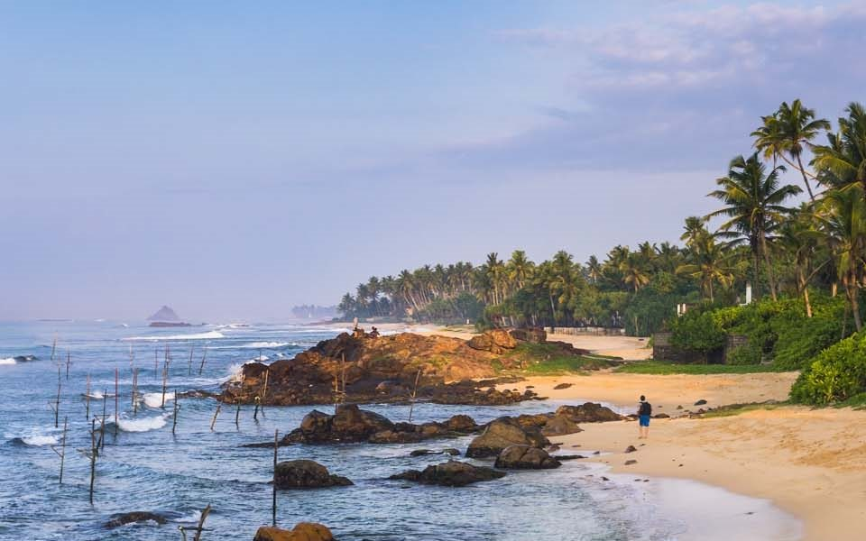 Sri Lanka, Midigama Beach, near Weligama, landscape photography by landscape photographer Matthew Williams-Ellis